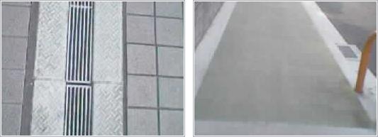 阪急伊丹駅前広場                      松原市歩道滑り止め